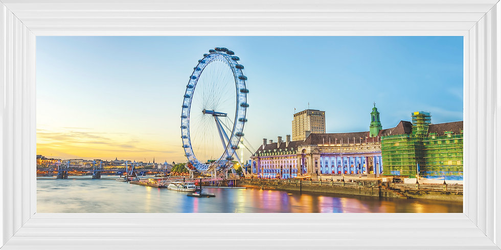 Pastel London Eye