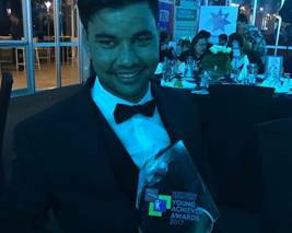 Director Mark Munnich wins NT Young Achiever of the Year Award