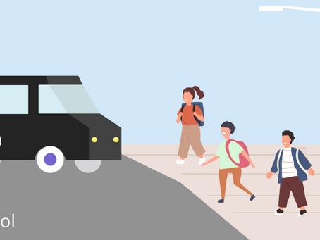 """【プレスリリース】biima schoolとNearMe、コロナ禍中の安全な送迎を見据えて園児の送迎に""""nearMe.School(ニアミースクール)""""を運用開始 〜明日4月1日より、提供開始〜"""