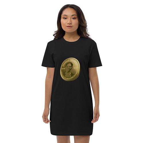 Harriet Tubman Gold Coin Organic cotton t-shirt dress