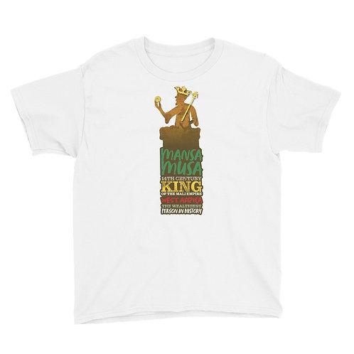 Mansa Musa Youth Short Sleeve T-Shirt