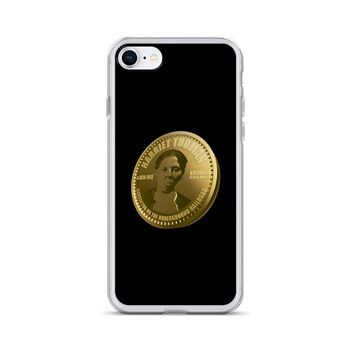 Harriet Tubman Gold Coin iPhone Case
