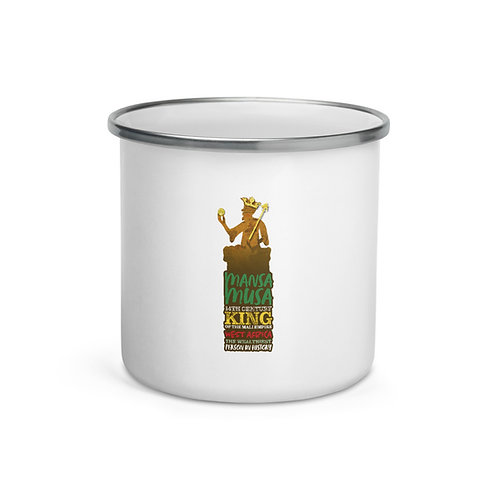 Mansa Musa Enamel Mug