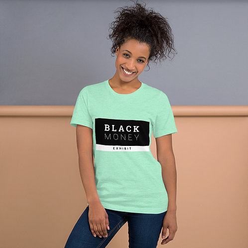 Black Money Exhibit™ Short-Sleeve Unisex T-Shirt