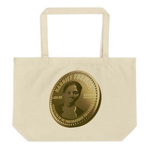 Harriet Tubman Large organic tote bag