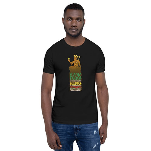 Mansa Musa Short-Sleeve Unisex T-Shirt