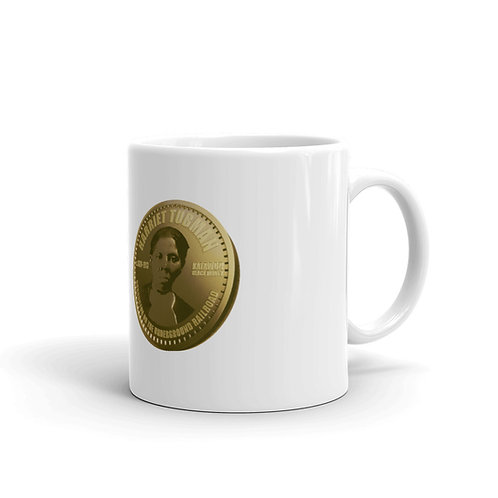 Harriet Tubman Gold Coin Mug