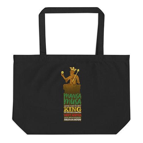 Mansa Musa Large organic tote bag