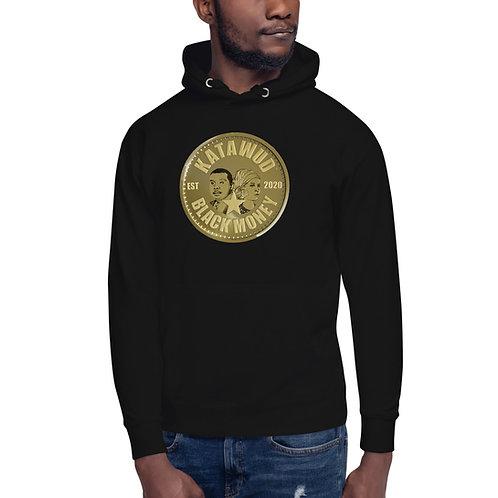 Katawud Black Money™ Gold Coin Unisex Hoodie