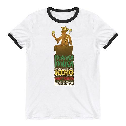 Mansa Musa Ringer T-Shirt