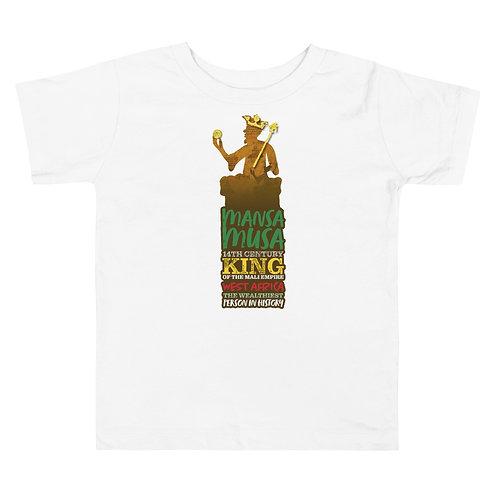 Mansa Musa Toddler Short Sleeve Tee