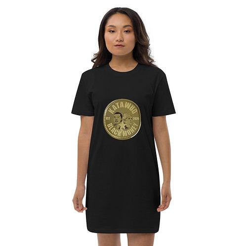 Katawud Black Money™ Gold Coin Organic cotton t-shirt dress