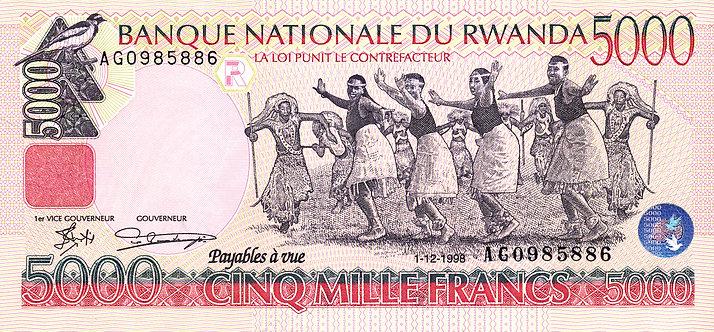 Intore Traditional Rwandan Warrior-Dancers