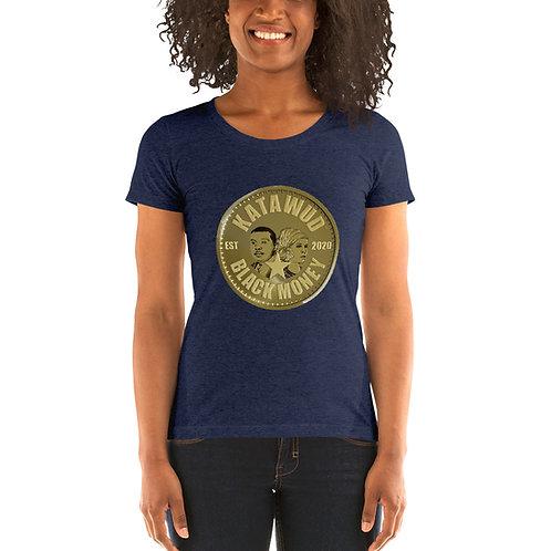 Katawud Black Money™ Gold Coin Ladies' short sleeve t-shirt