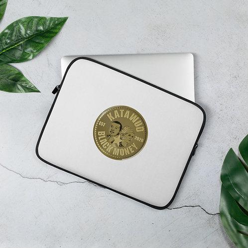 Katawud Black Money™ Gold Coin Laptop Sleeve