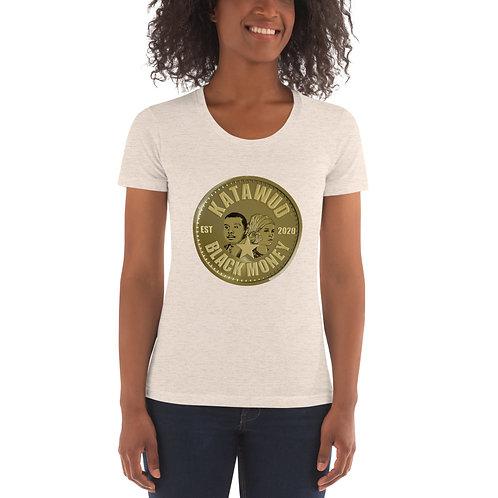 Katawud Black Money™ Gold Coin Women's Crew Neck T-shirt