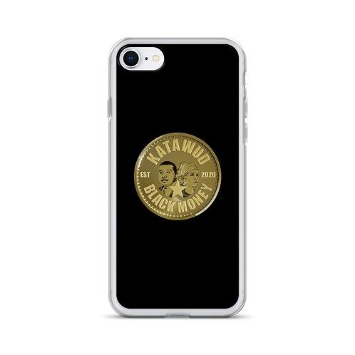 Katawud Black Money™ Gold Coin iPhone Case