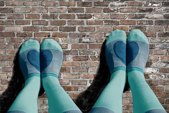The Valentine's 4-pack + Sock Loss Prevention Laundry Bag