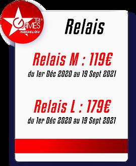Tarifs TriGames 2021