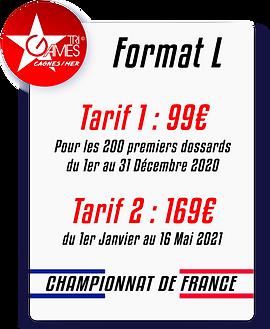 Tarif TriGames 2021