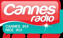 LOGO CannesRadio CMJN 2Fréquences Baseli
