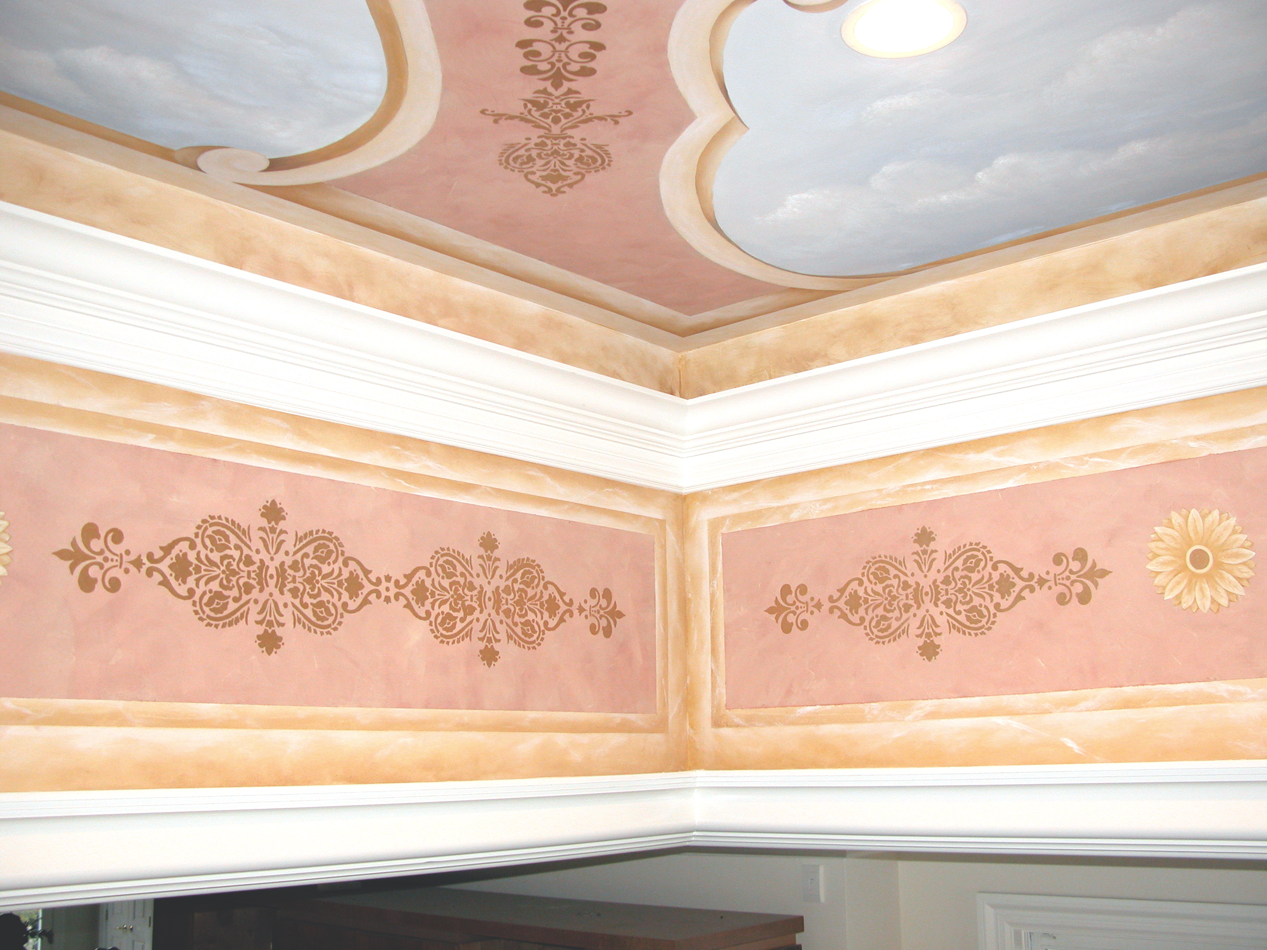 Mural Ceiling Design North caldwell