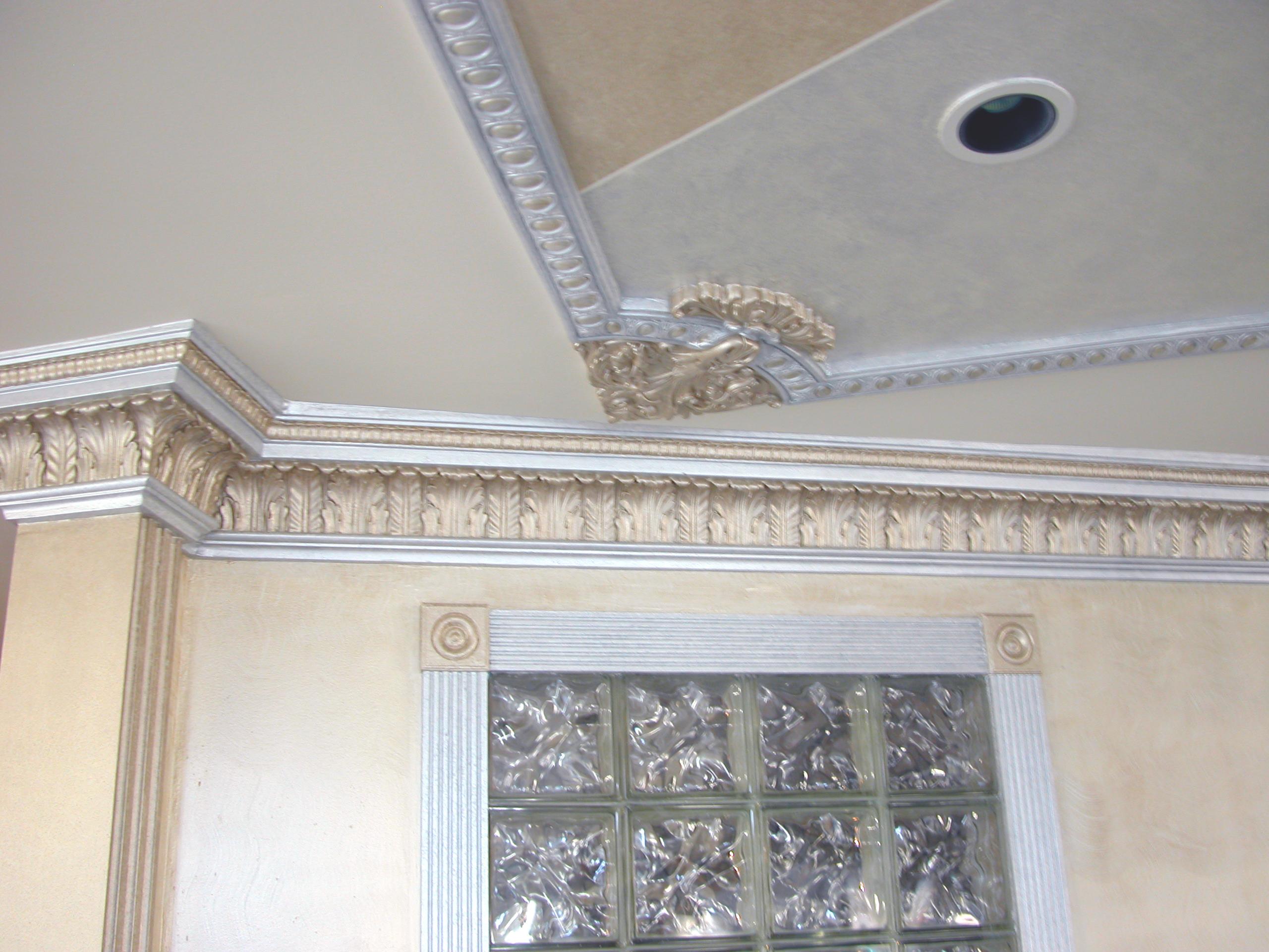Gold Leaf Design Upper Brookville NY