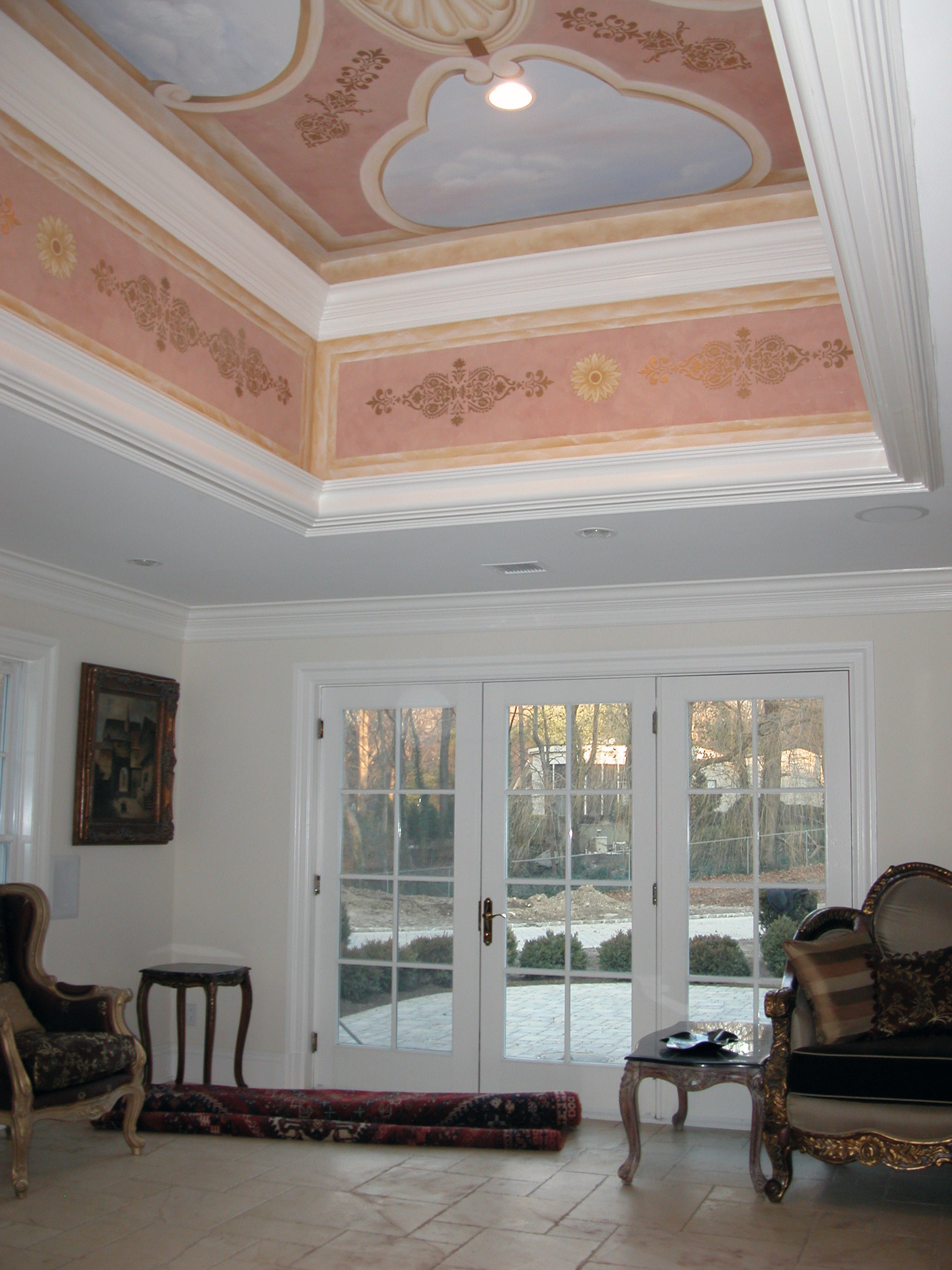 Mural Ceiling Design Upper Montclair