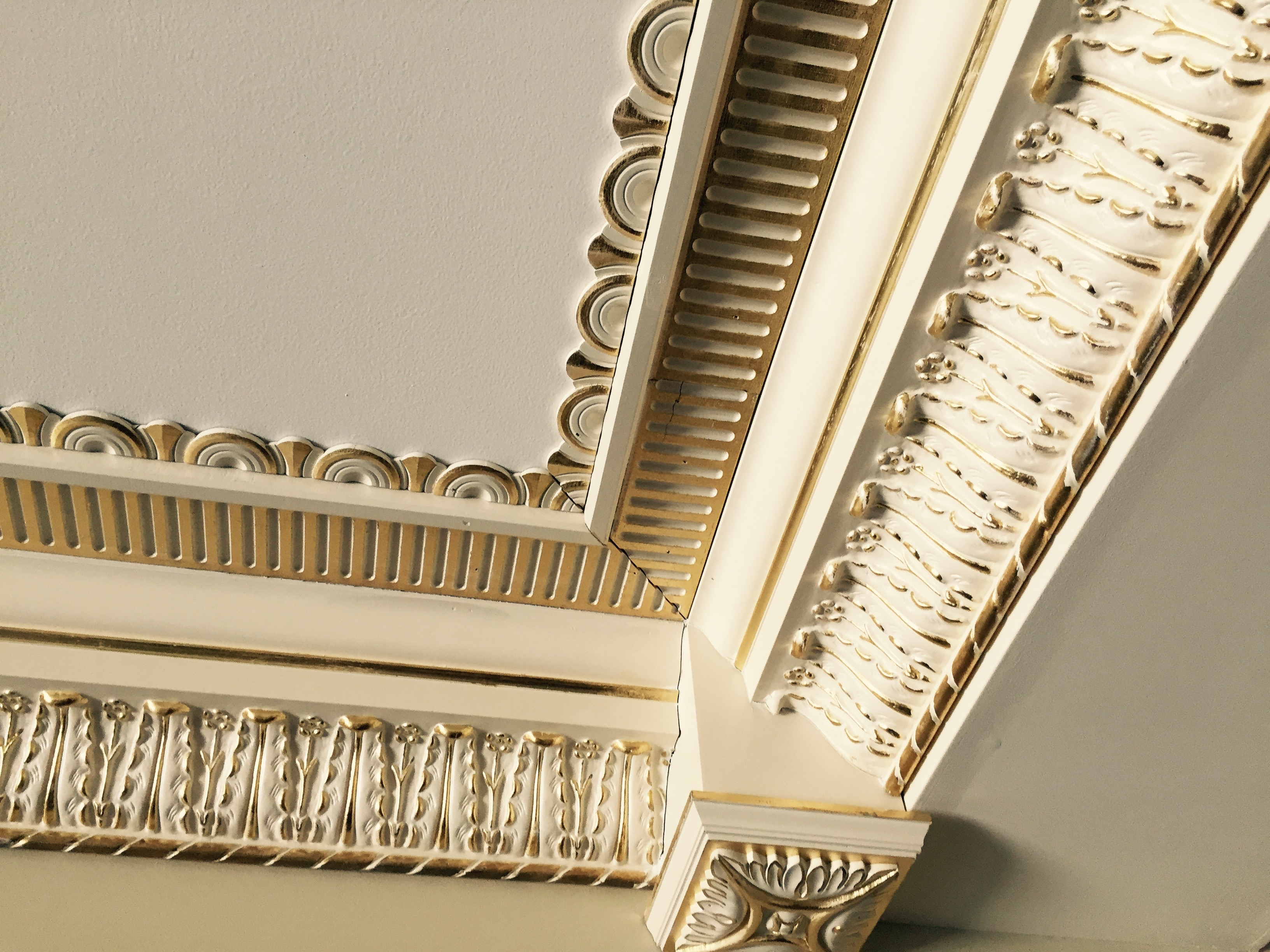 Custom Molding Design & Gold Leaf