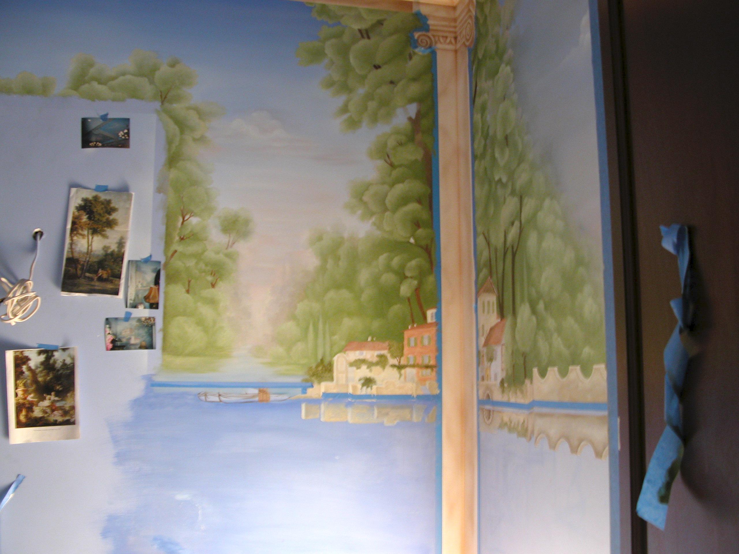 Mural Essex Fells NJ
