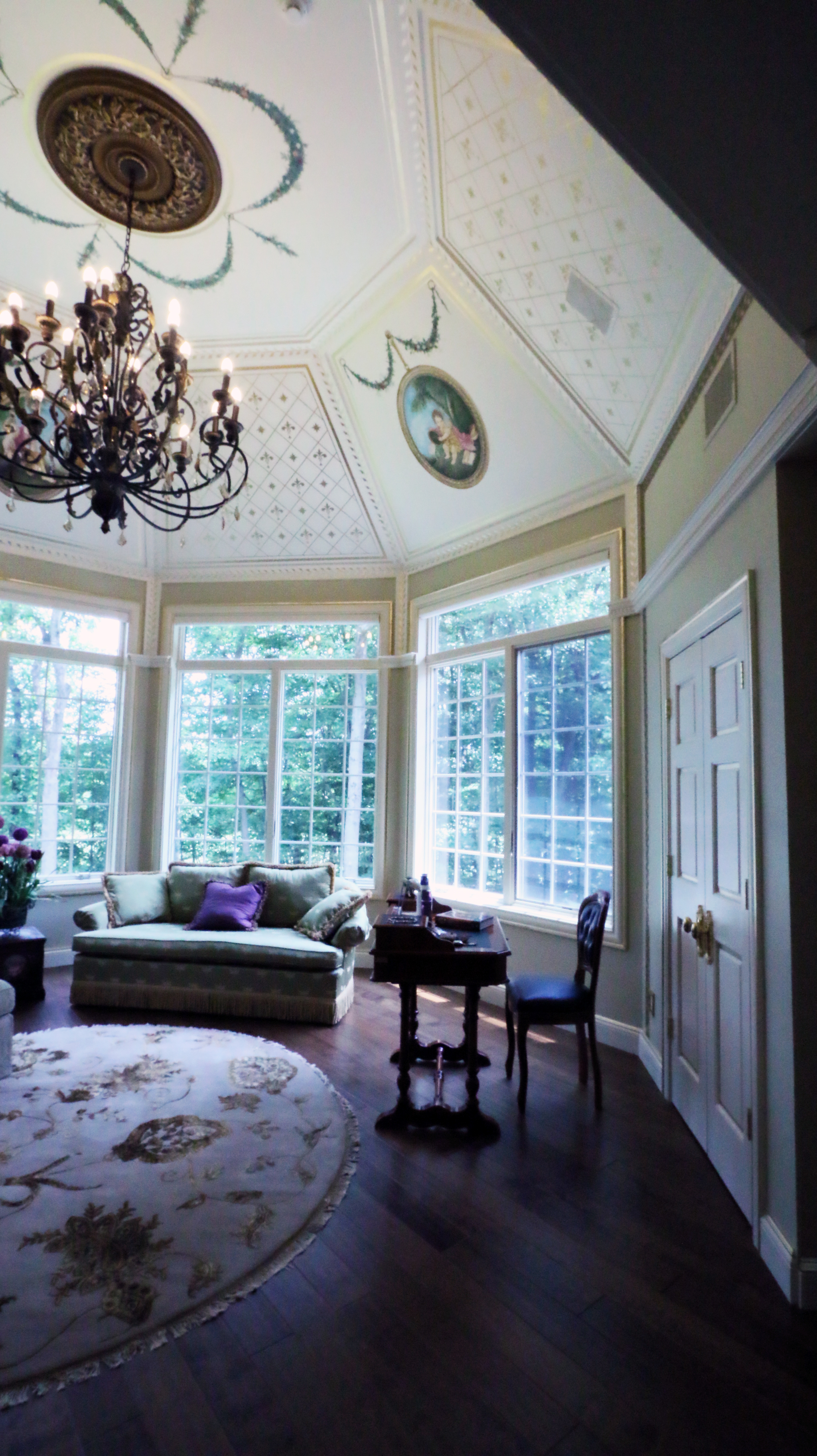 Mural and Ceiling Dome Saddle River