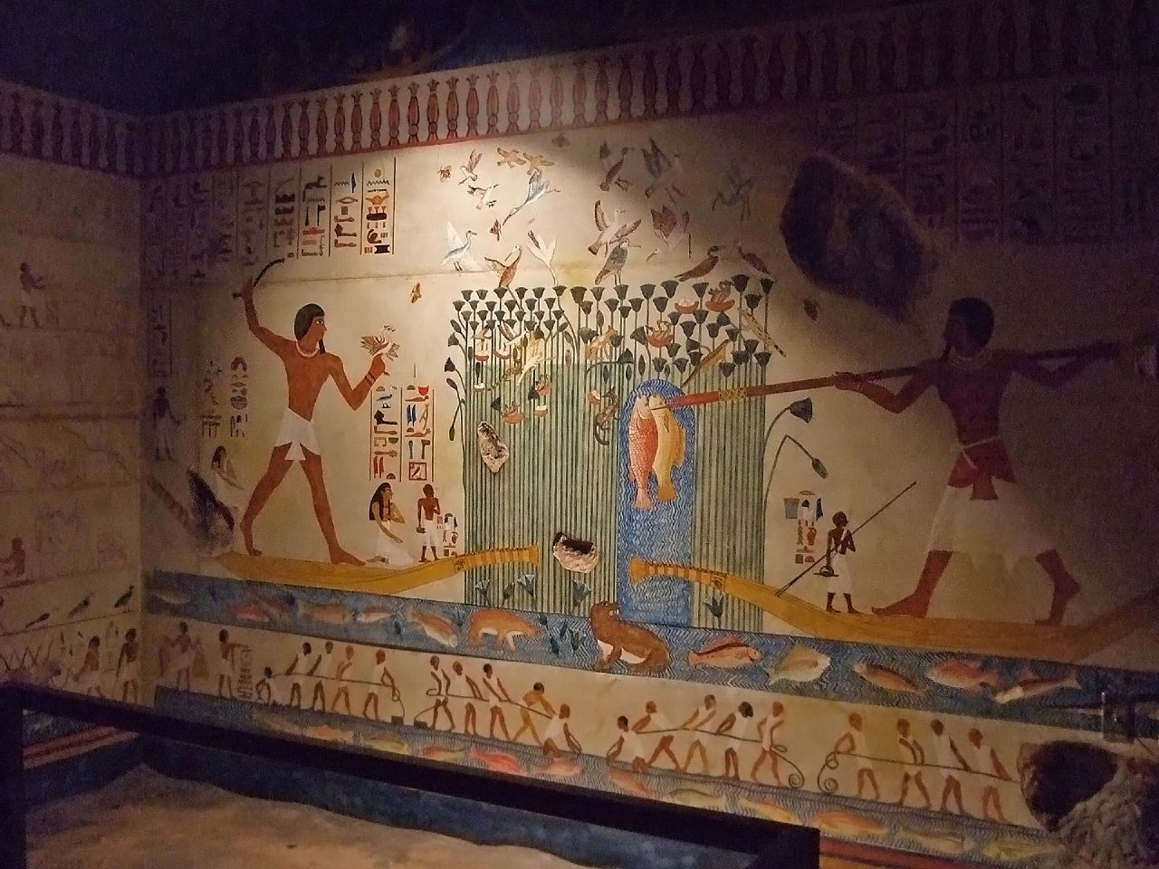 Egyptian Murals & Frisco