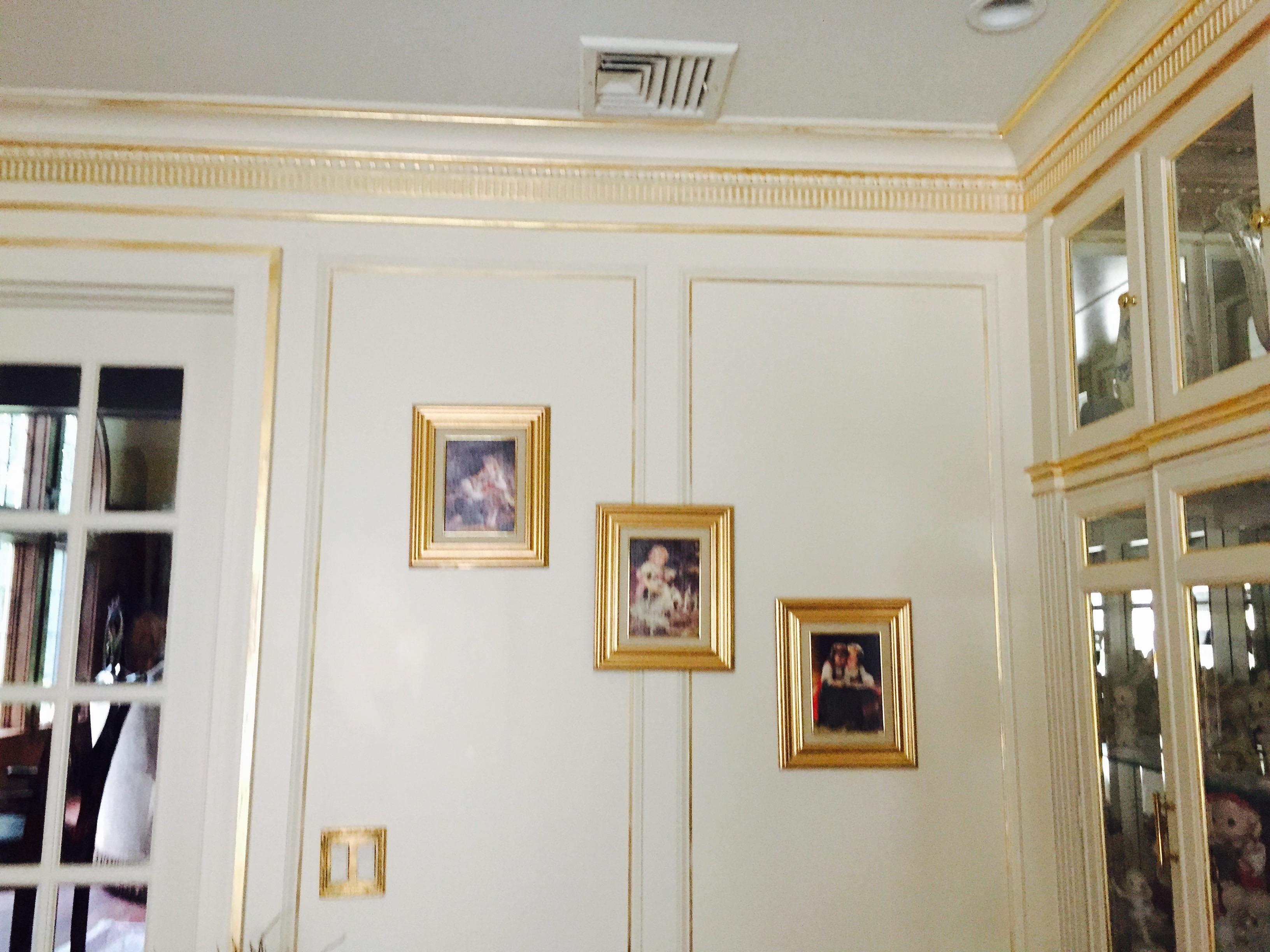 Gold Leaf Design Old Brookville NY