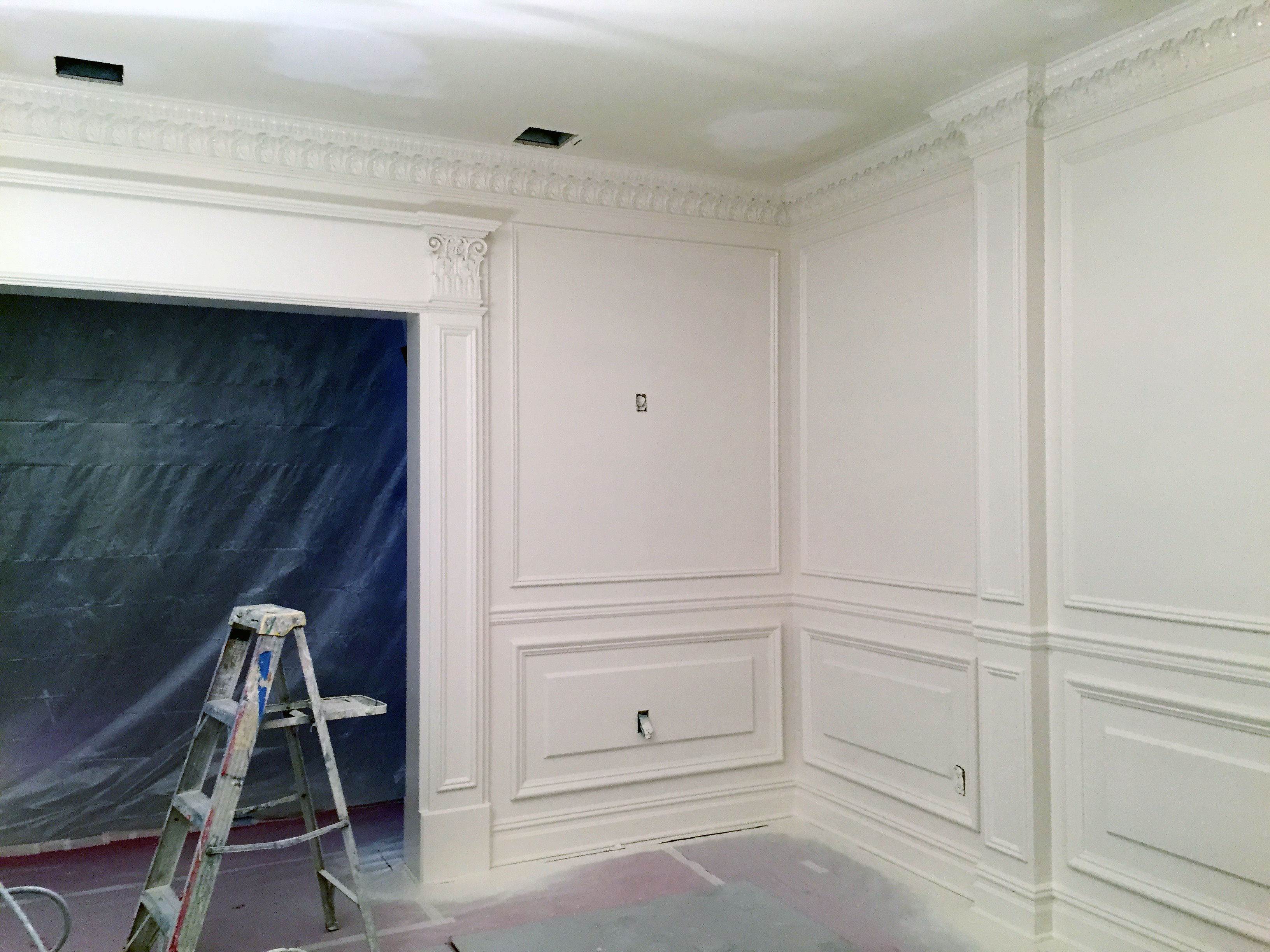 Custom Millworks & Lacquer  Paint
