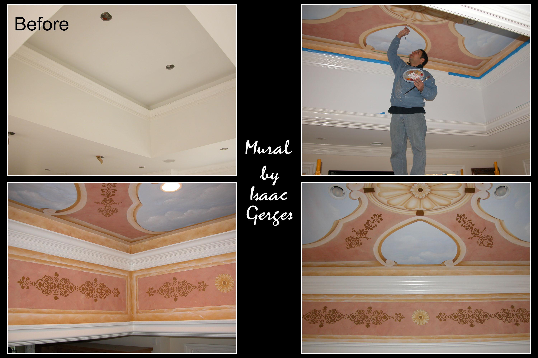 Mural Ceiling Design Mountainside NJ