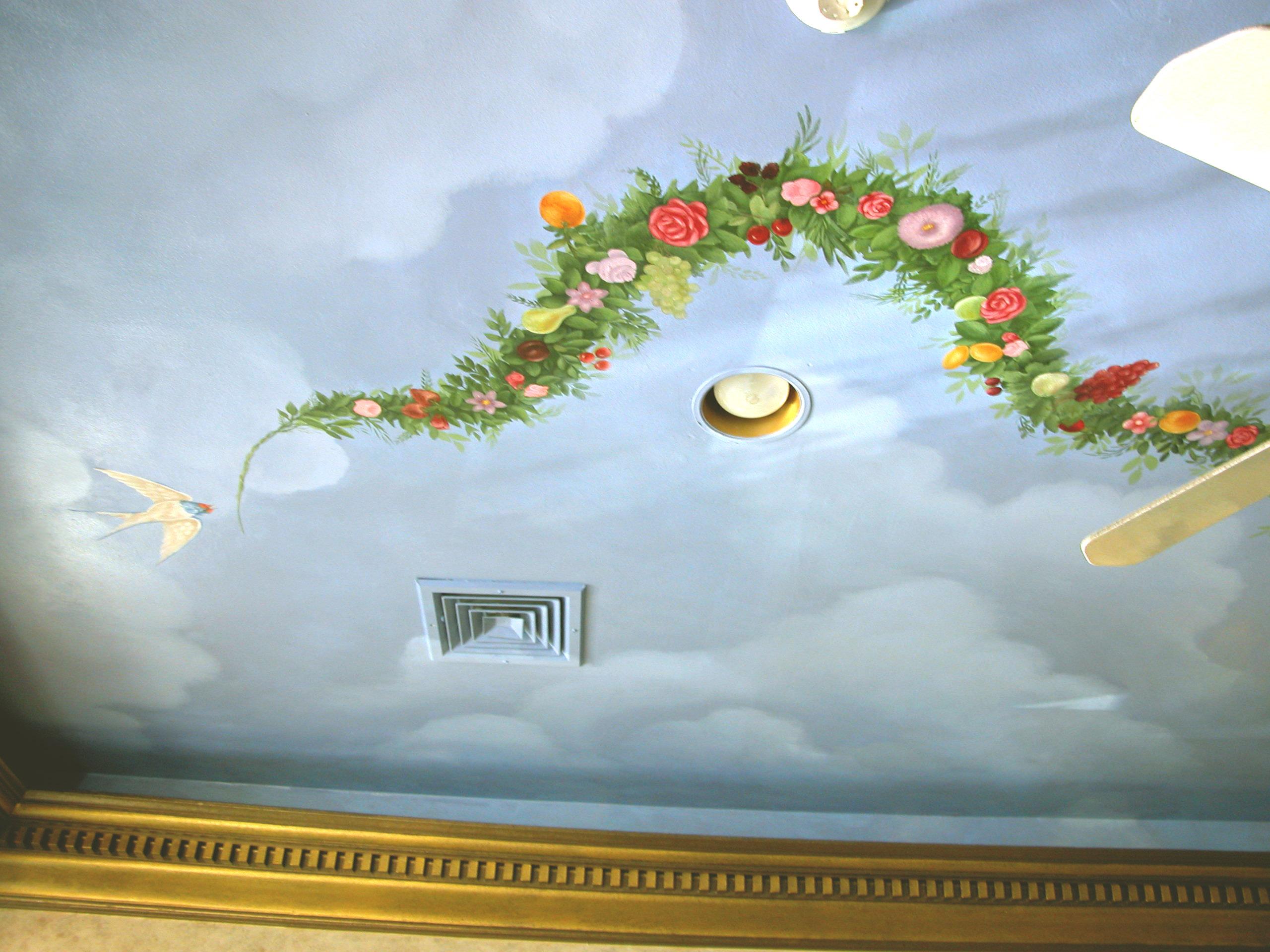 Mural Ceiling Design Oradell NJ