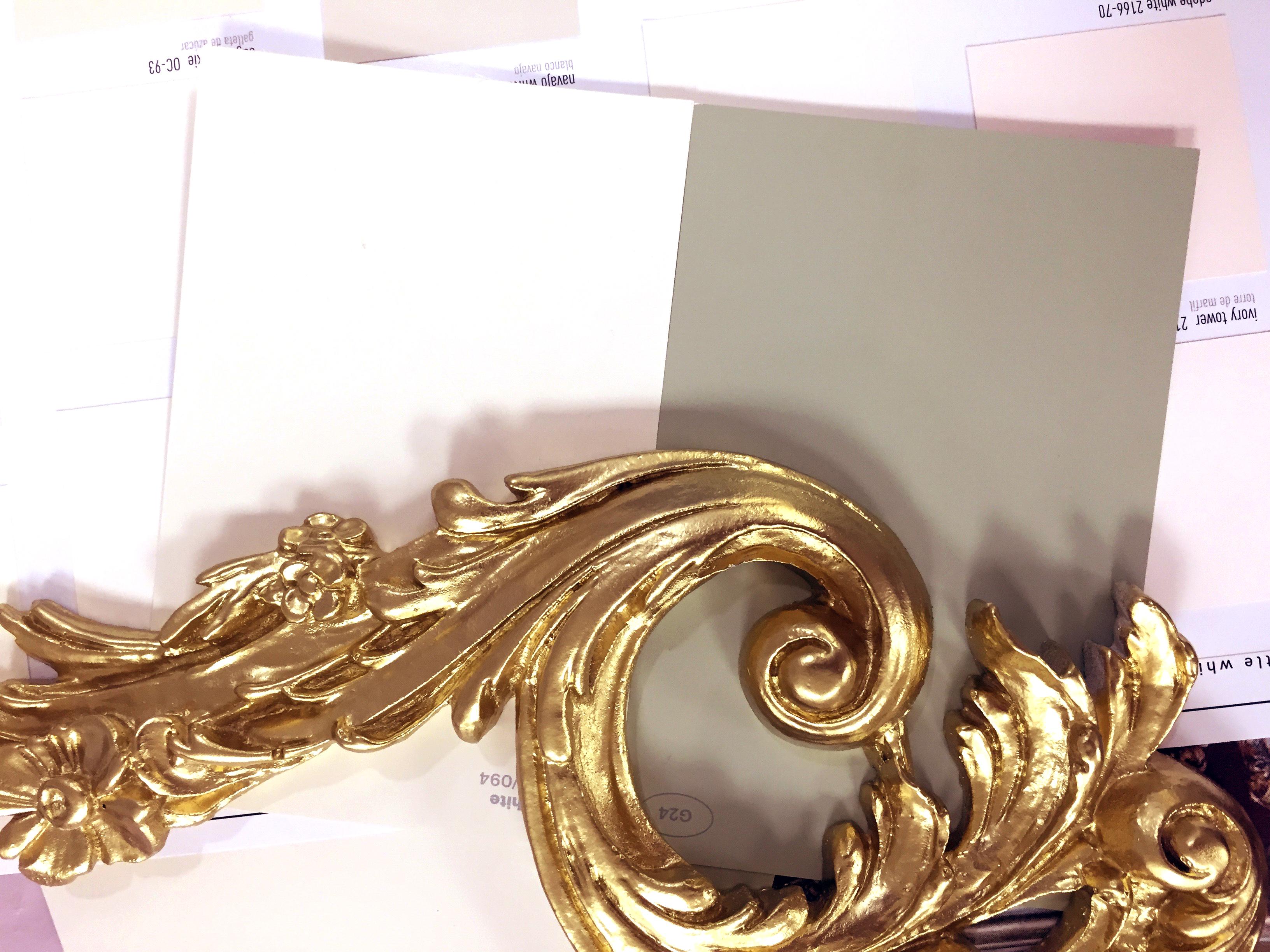 Gold Leaf Design