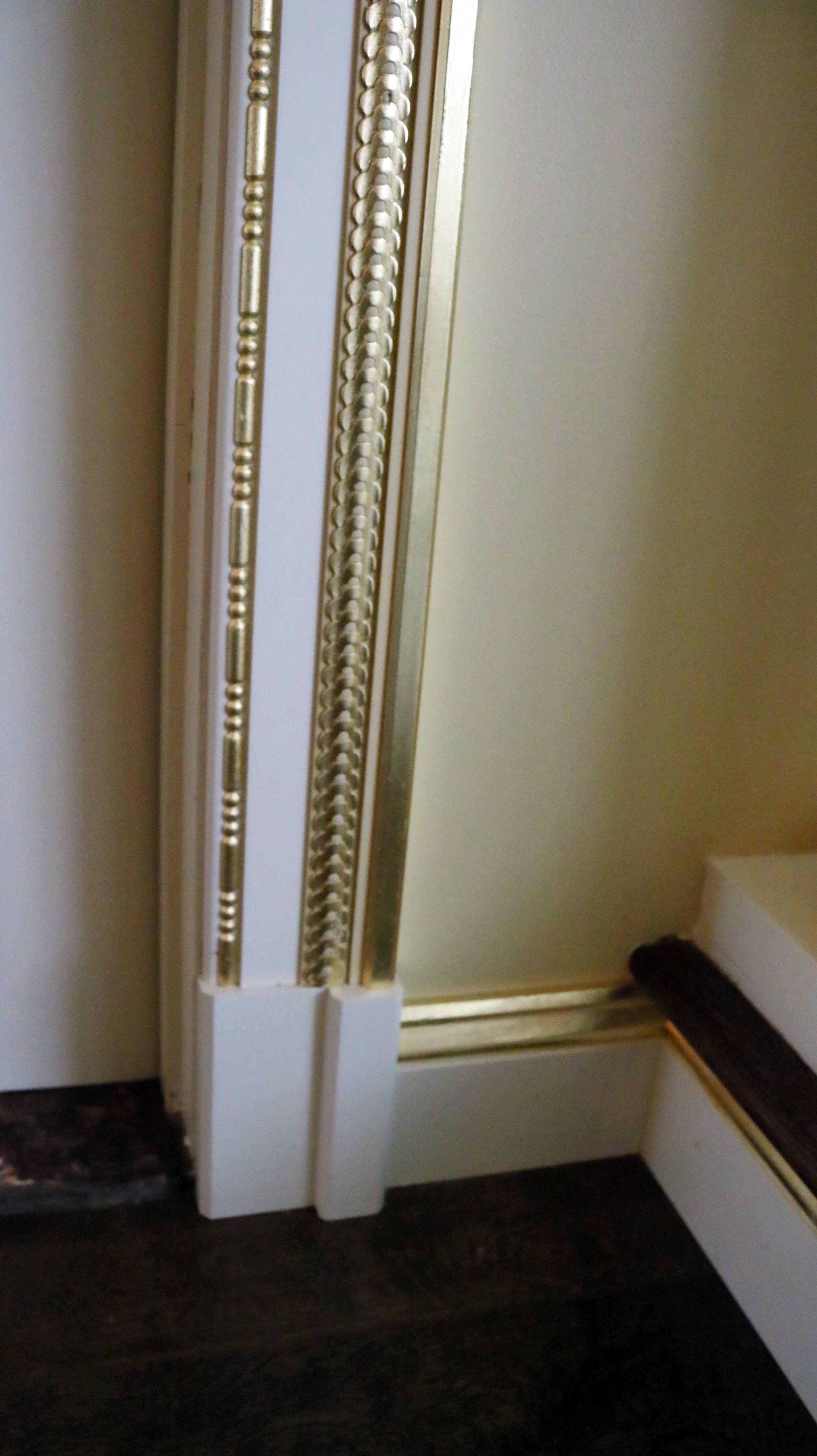 Gold Leaf & Molding Design