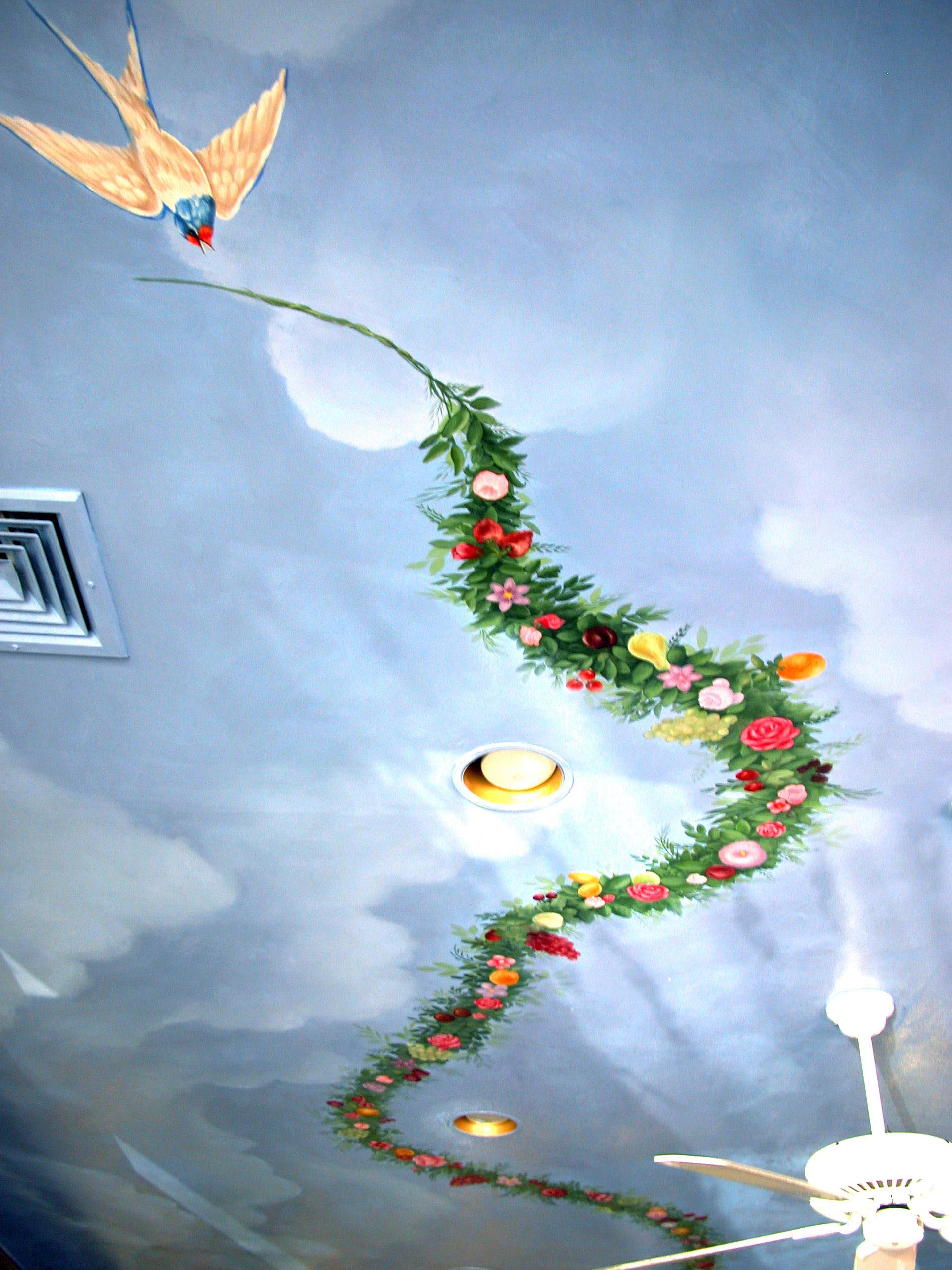 Mural Ceiling Idea Ridgewood NJ