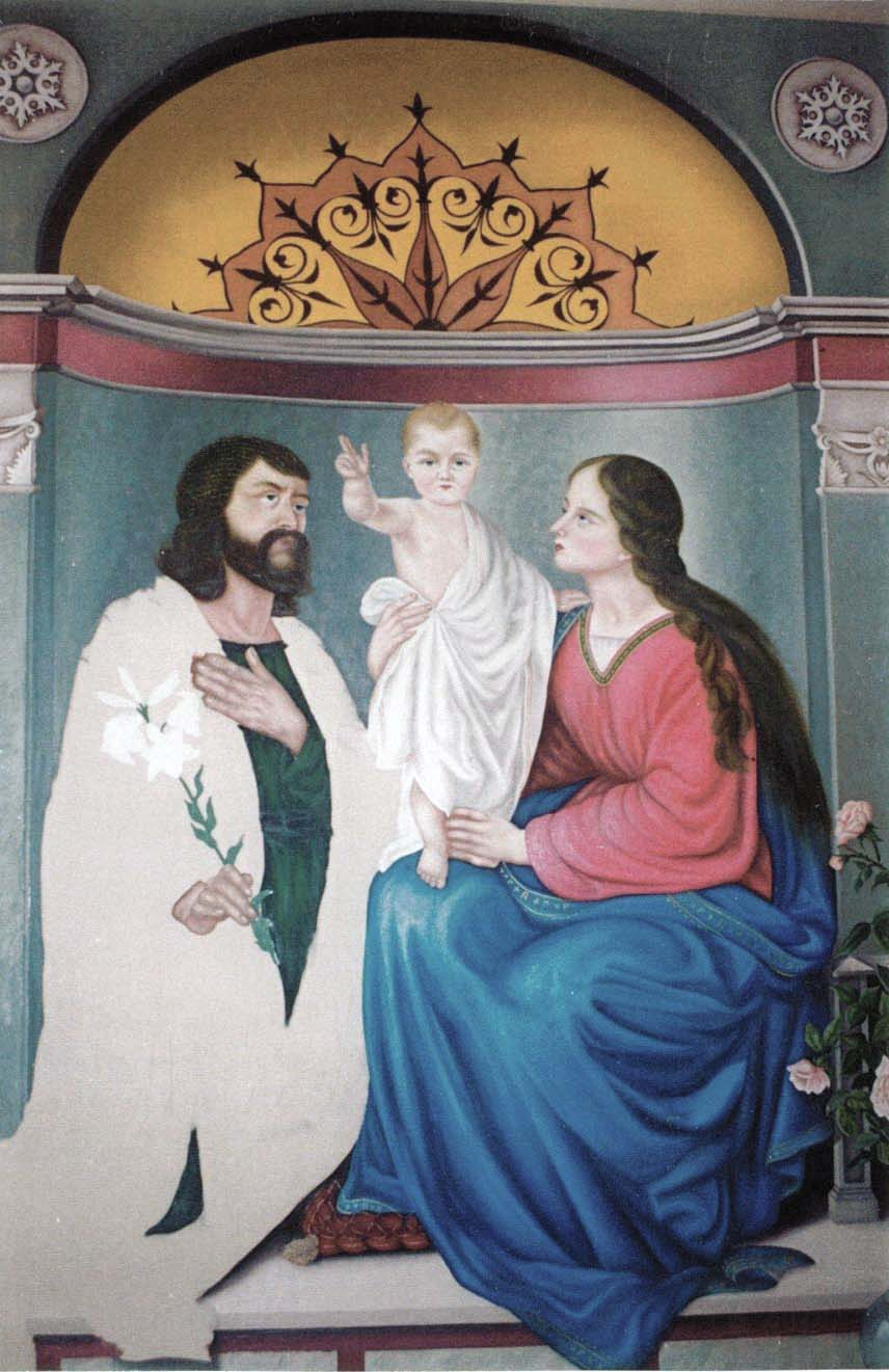 Religious Murals, Oil paintings