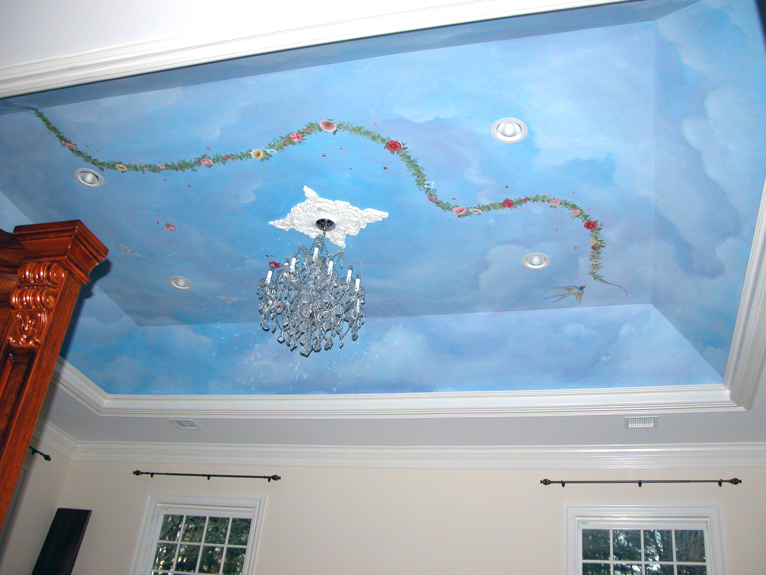 Ceiling Mural Idea Brookville NY