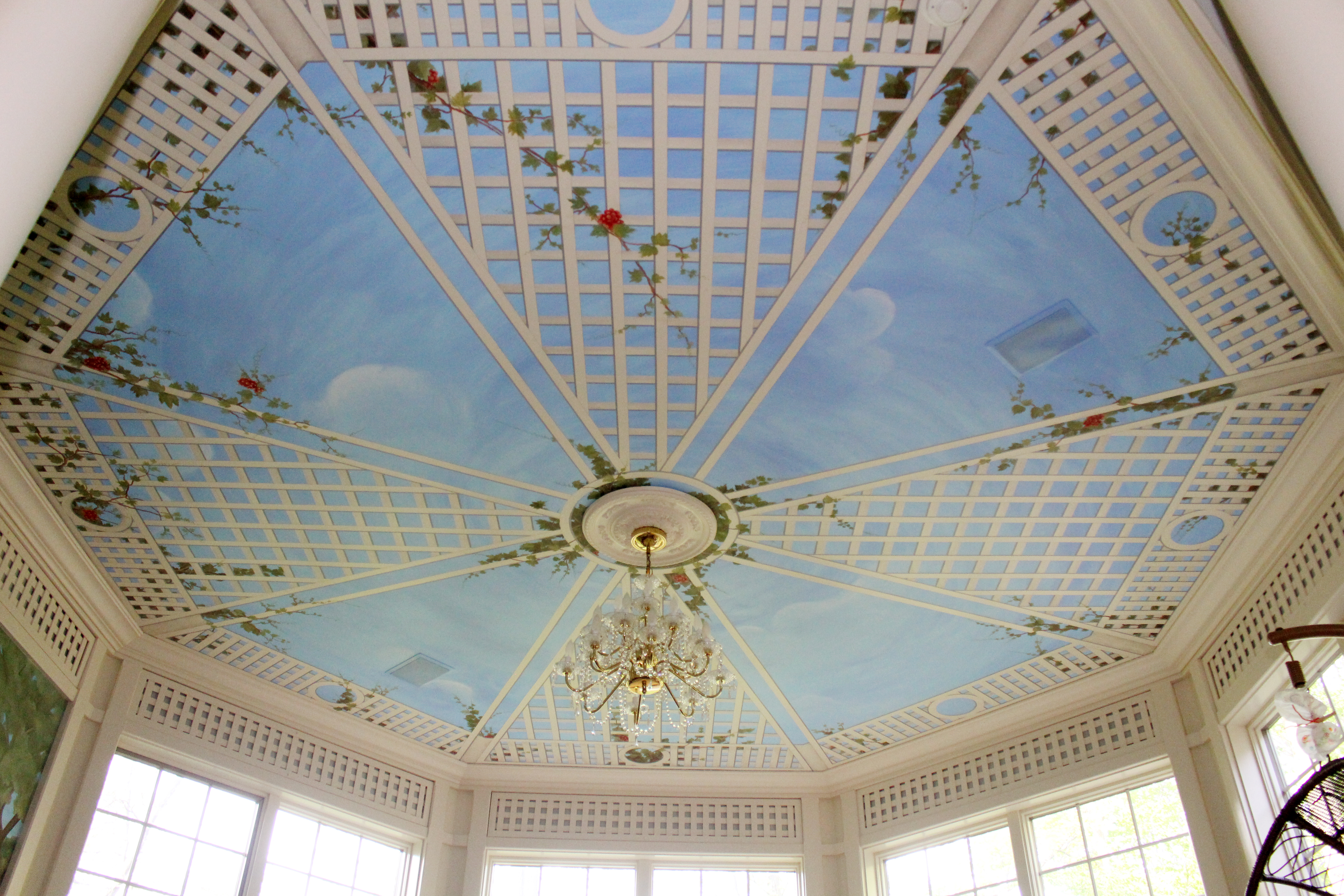 Ceiling Mural Old Brookville NY