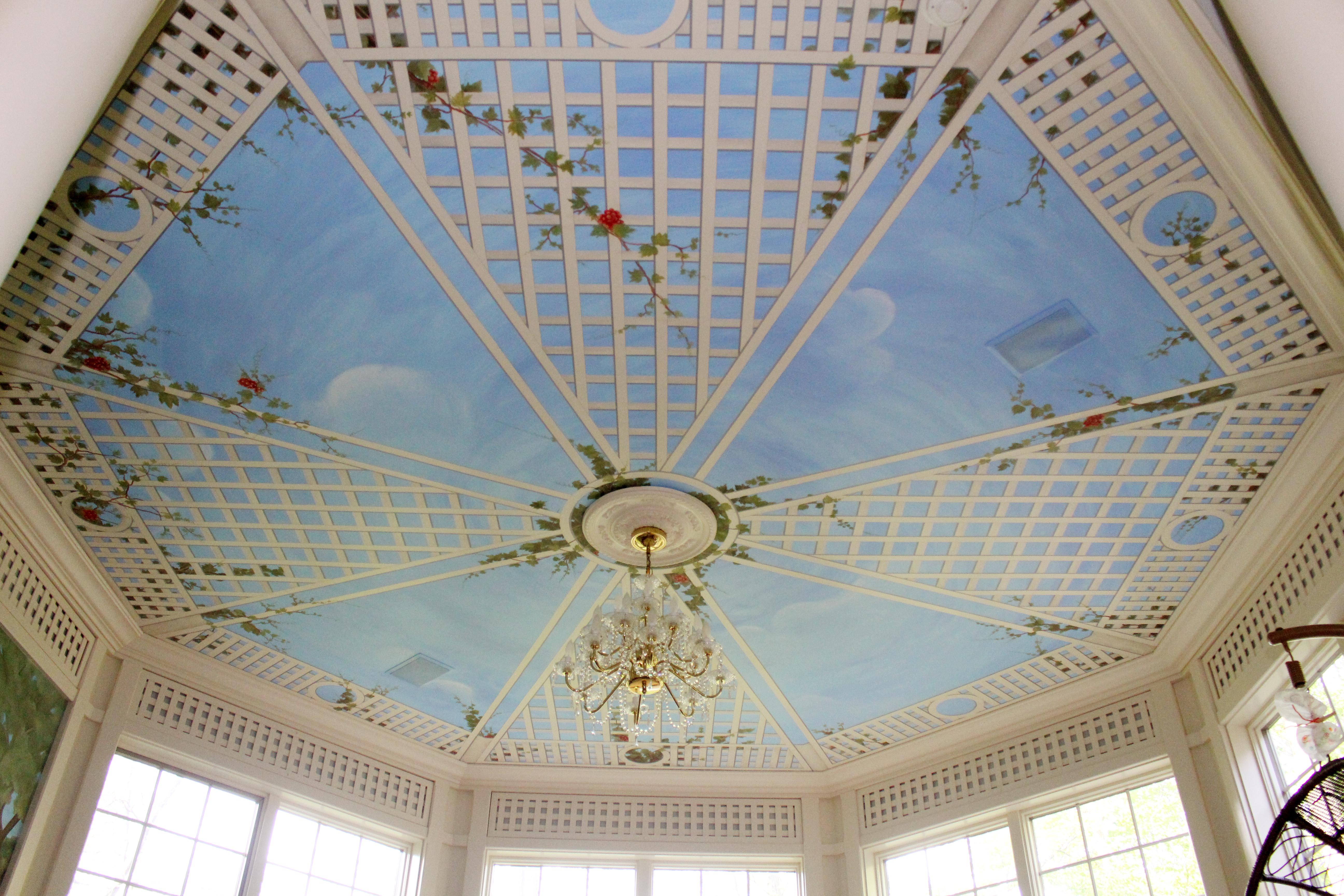 Mural Ceiling Design Alpine NJ