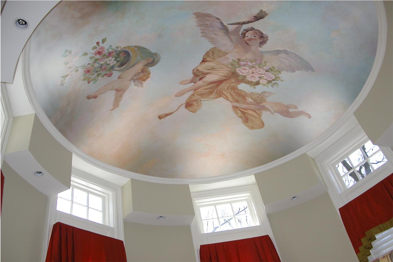 Mural Ceiling Glen Rock NJ