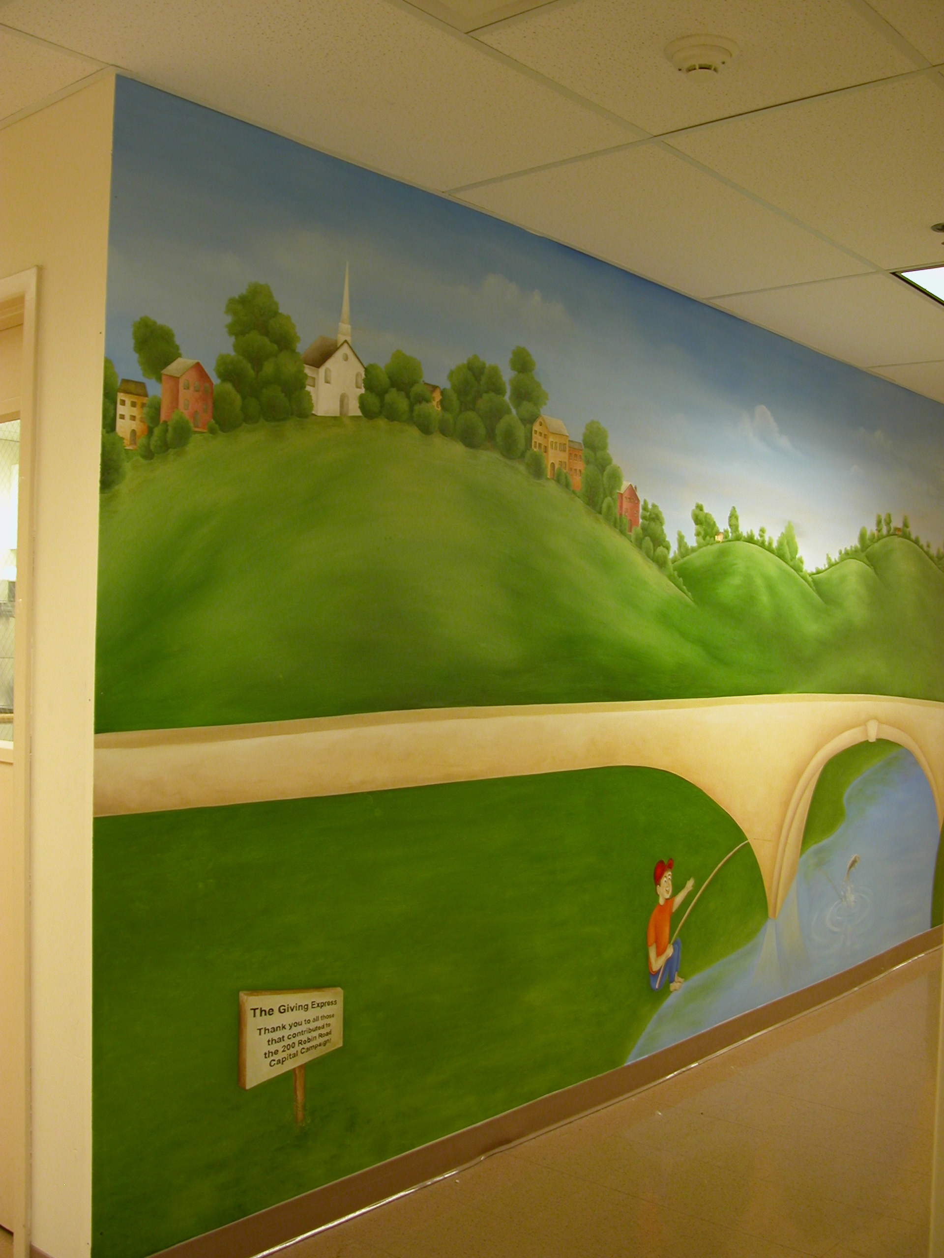 Kids' Murals and Babe's room