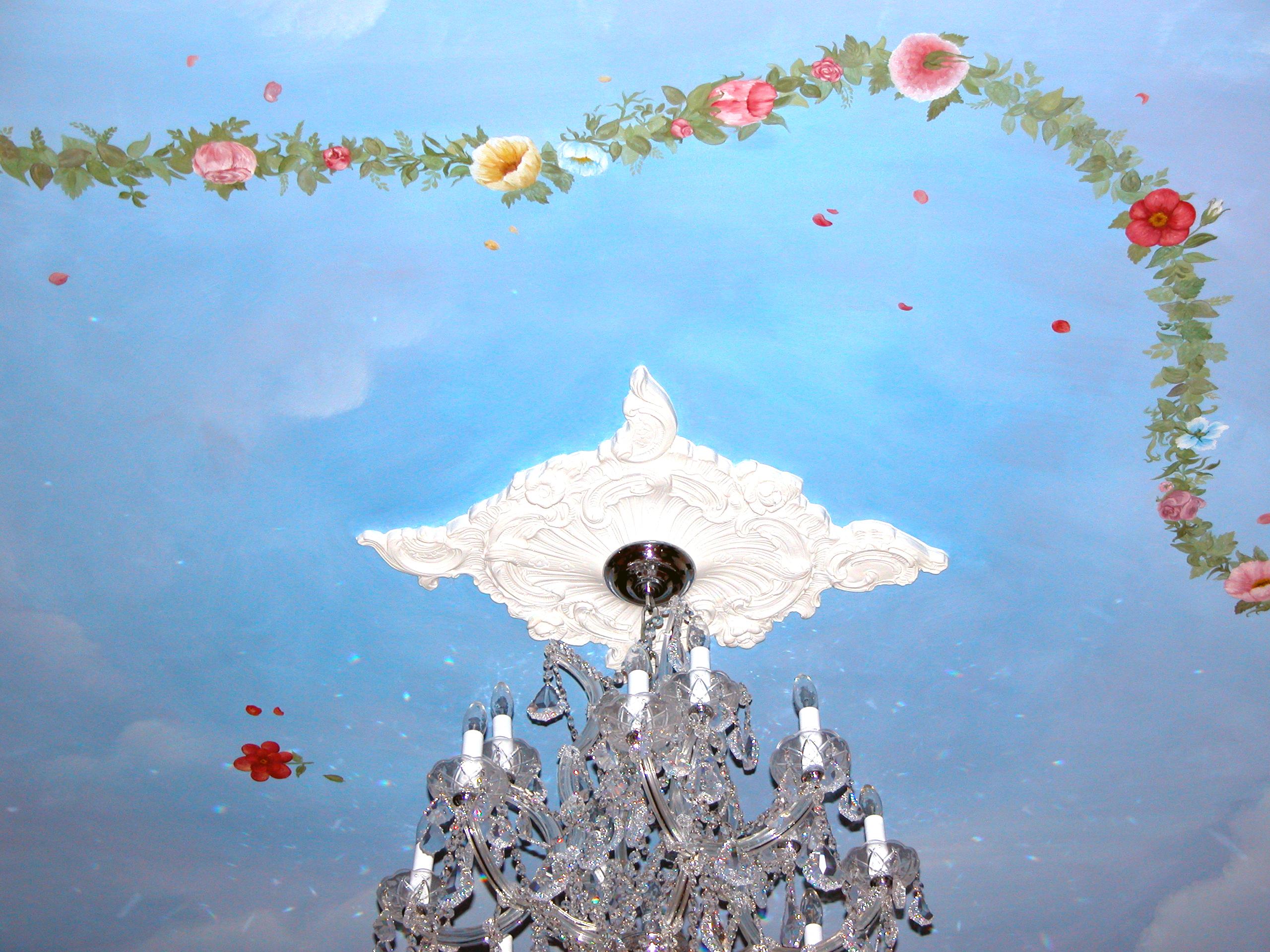 Ceiling Mural Little Silver NJ