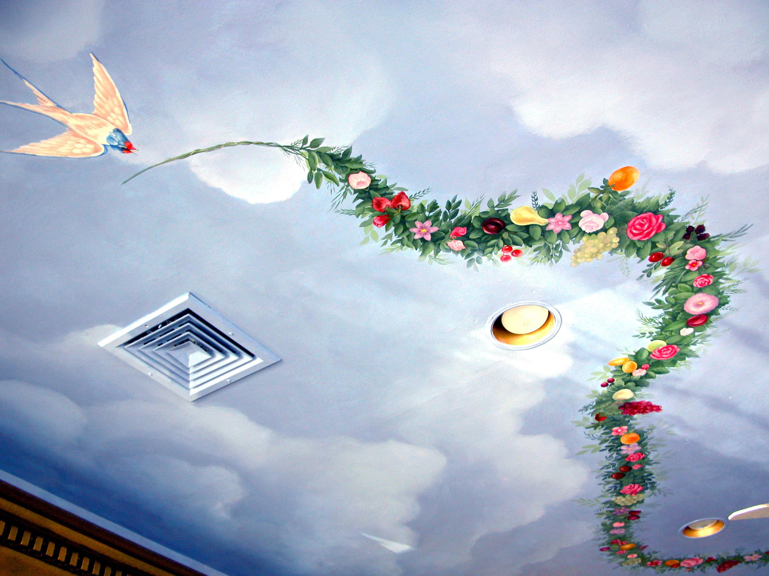 Mural Ceiling Design Ramsey NJ