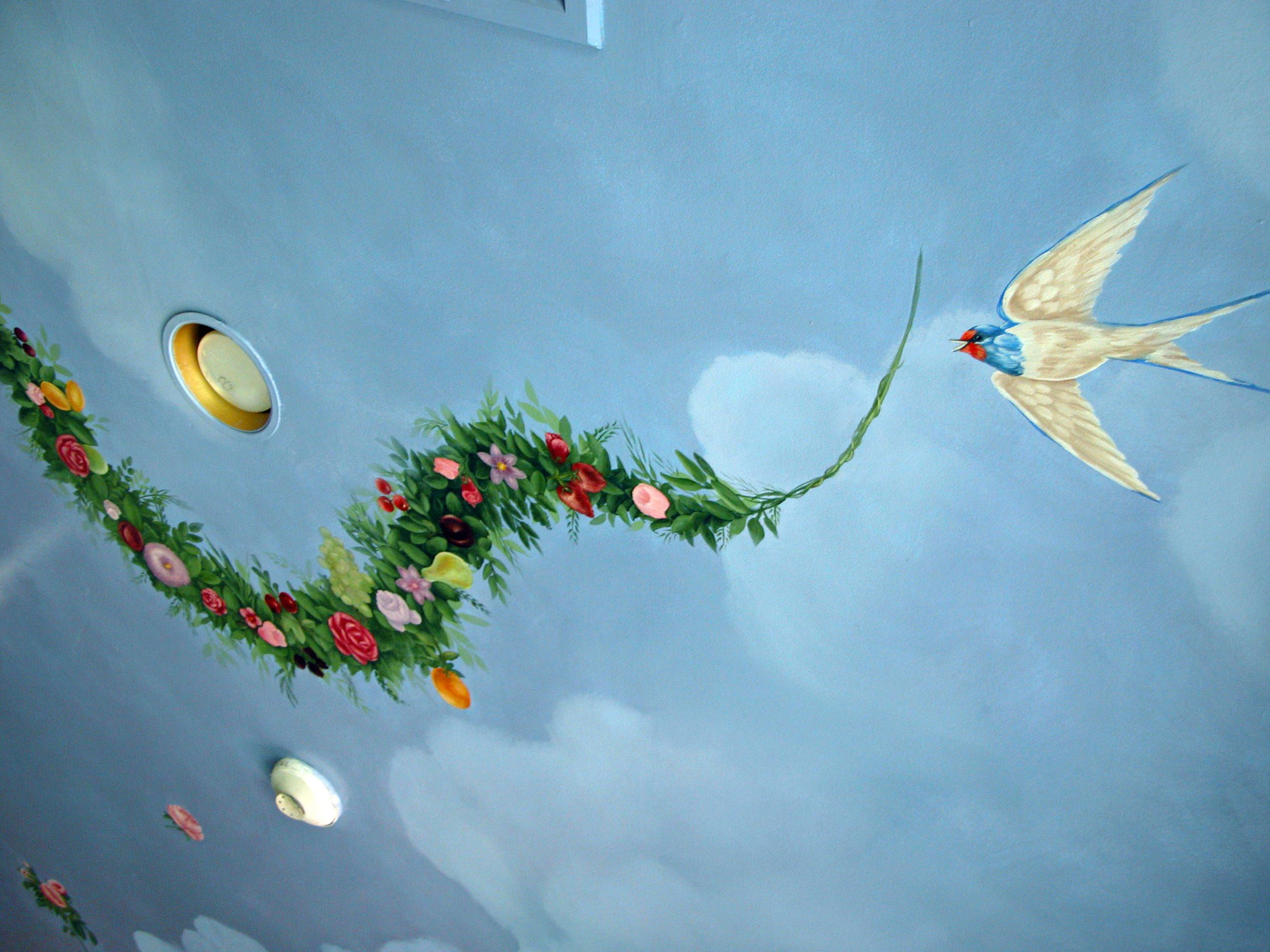 Ceiling Mural Idea Rumson NJ