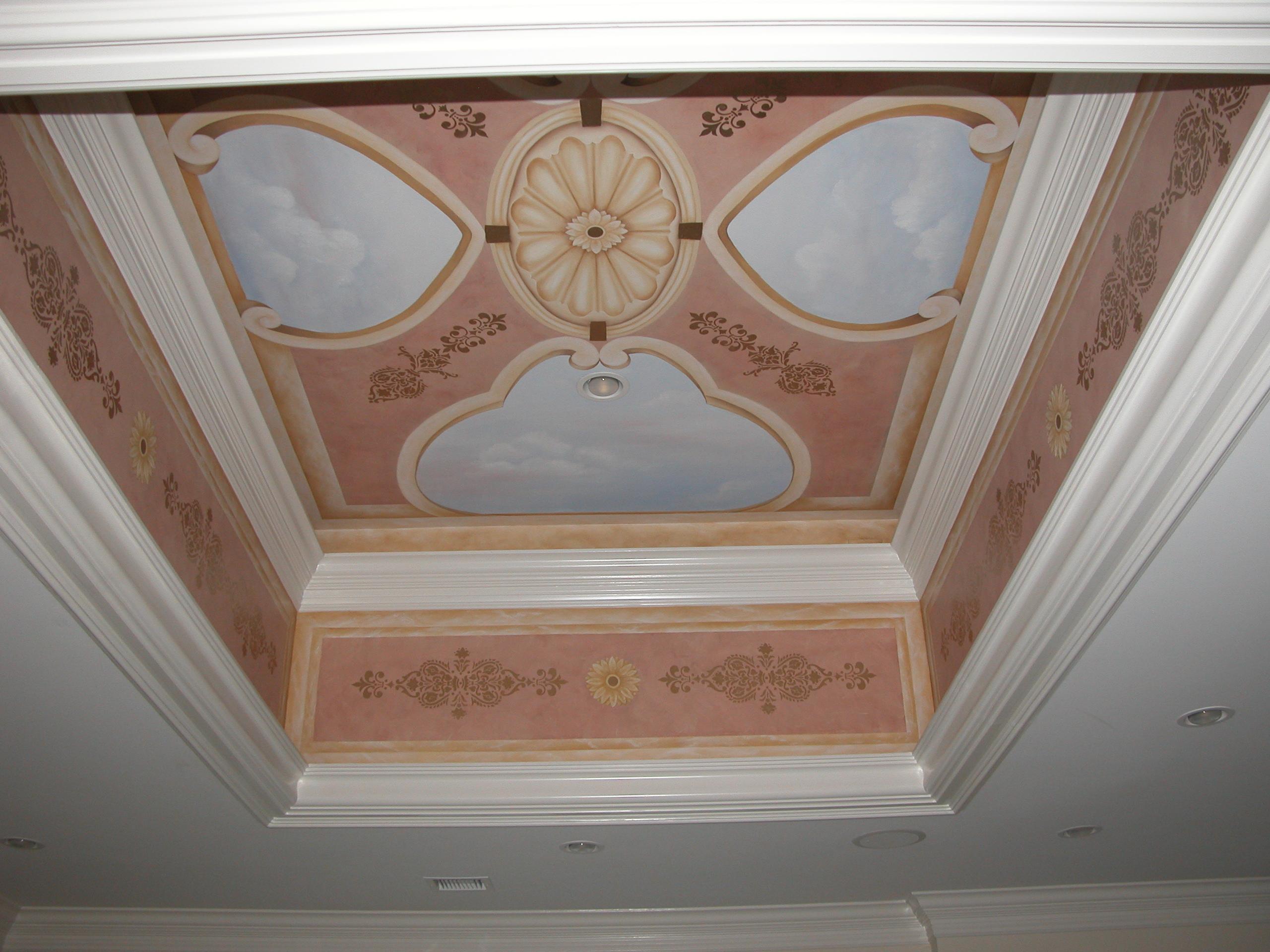 Mural Ceiling Idea Mountain Lakes NJ