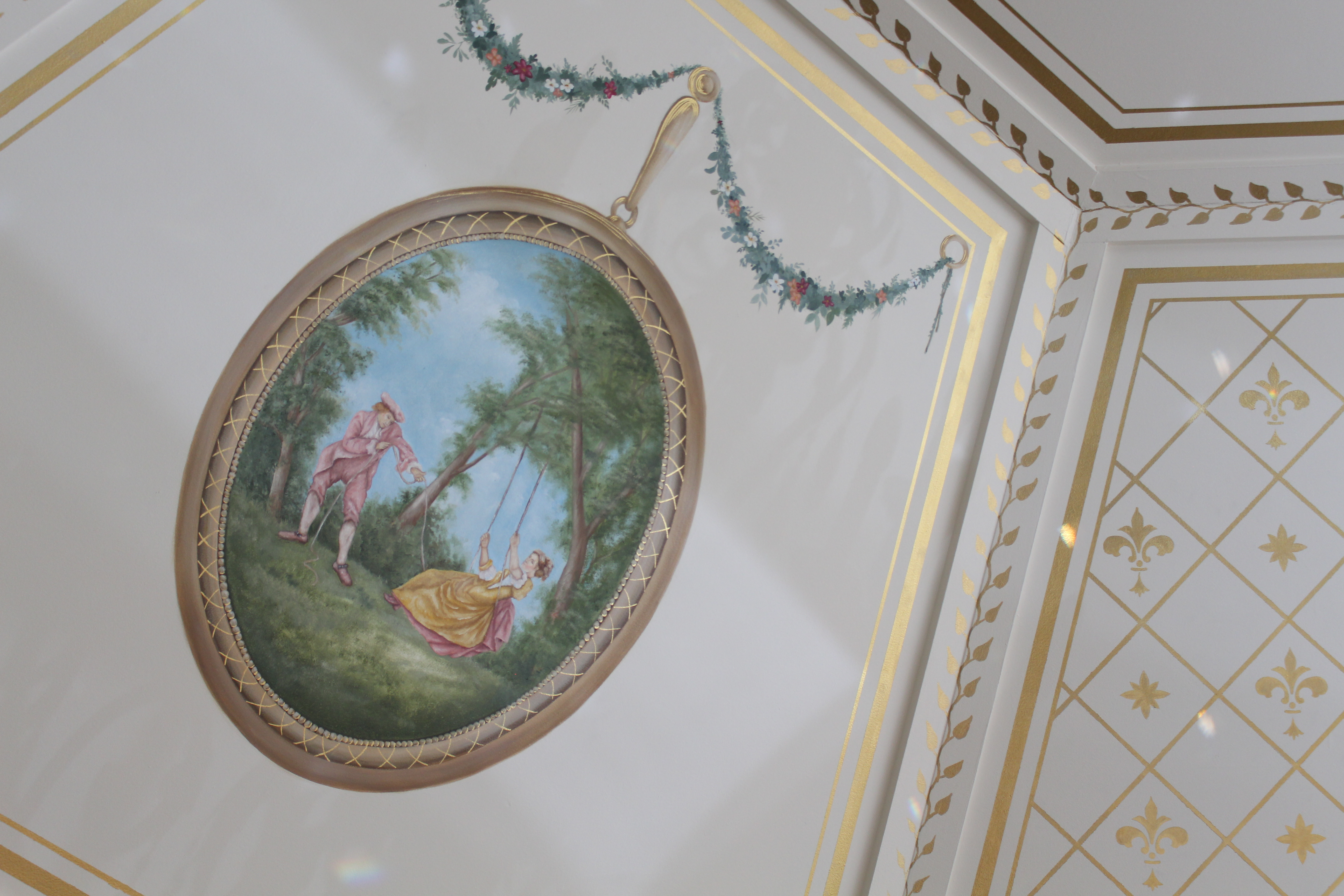 Mural and Ceiling Dome Sadd River NJ